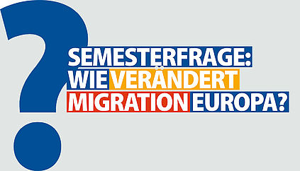 Semester Question: How does migration change Europe?